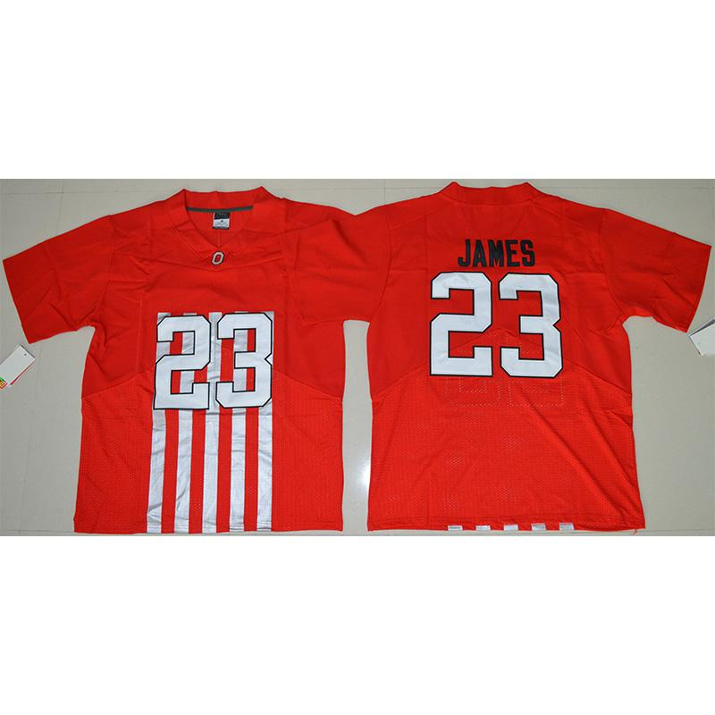 quality design ec704 a2ef8 Mens Ohio State Buckeyes Lebron James Stitched Name&Number Game Elite  Legend American College Football Jersey Size S-3XL