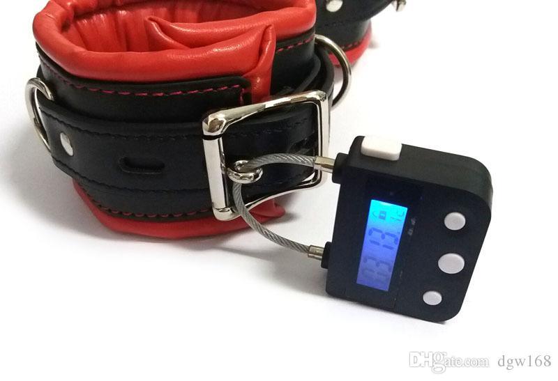 USB charging Electronic Timer Bondage multipurpose timing lock chastity lock bdsm fetish for bondage slave training adult games couples sex