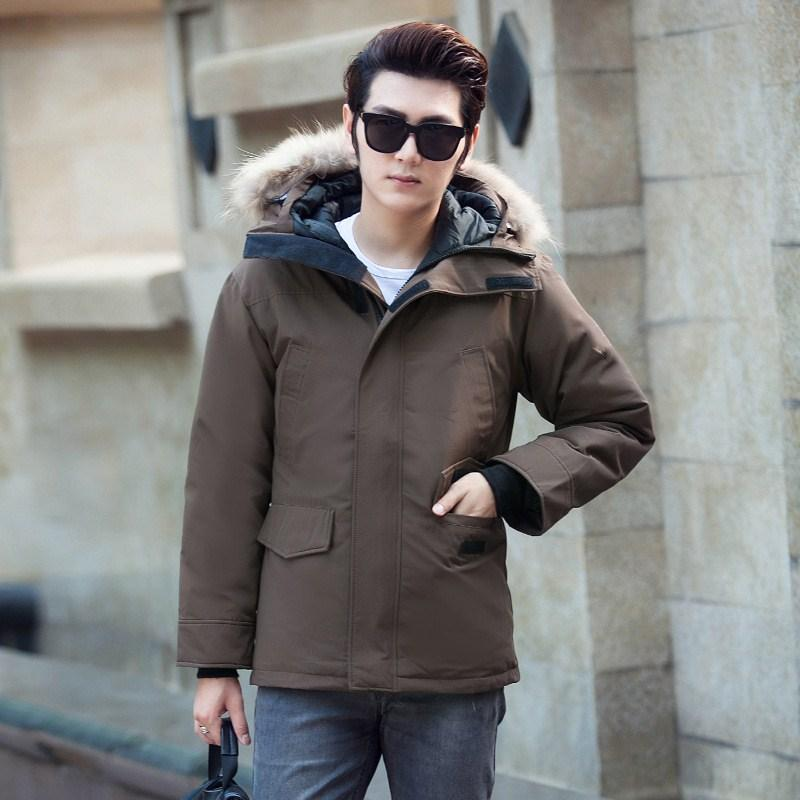 f23a443e0257 Wholesale Youthful Popularity Mens Winter Coat With Fur Personality ...