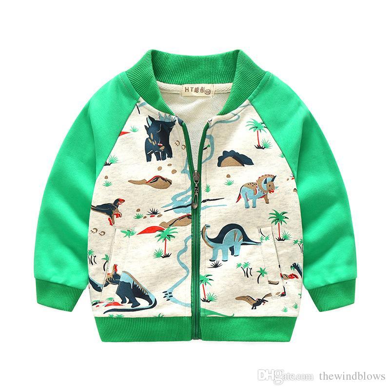 3c2f3dae10ca Spring Autumn Jackets For Boy Coat Cartoon Jacket Boy S Windbreaker ...