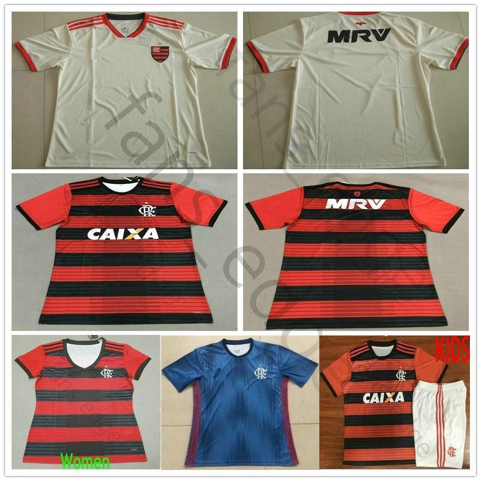 f79e0959c1 Compre 18 19 Flamengo Jersey 2019 Flamengo DIEGO VINICIUS JR RIBEIRO Camisas  De Futebol Flamengo Casa Longe De Futebol Mulheres Homens Crianças Camisa  De ...