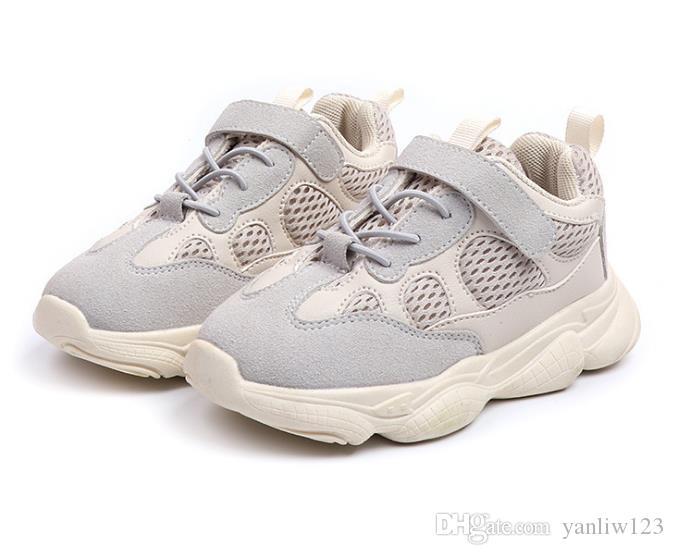 f36d1d9813d54 Acheter Baskets Pour Enfants En Cuir Véritable Enfants Chaussures Taille 21  36 Étanche Enfants Sneakers Respirant Filles Et Garçons Chaussures De Sport  En ...