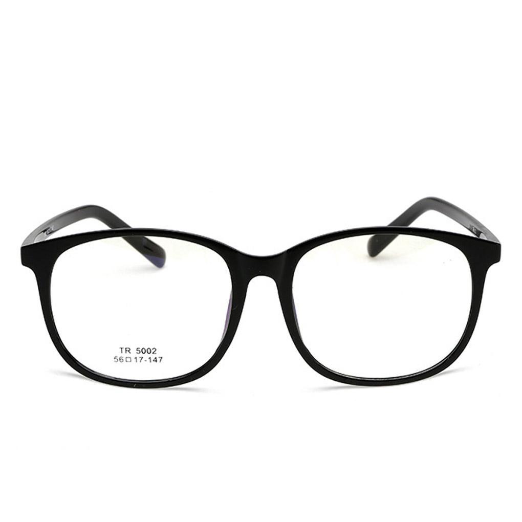 da2c1d8eec5 2019 Fashion Unisex Round Plain Glass TR Flexible Optical EyeGlasses Frames  Glasses For Women And Men From Qiuyuezhong