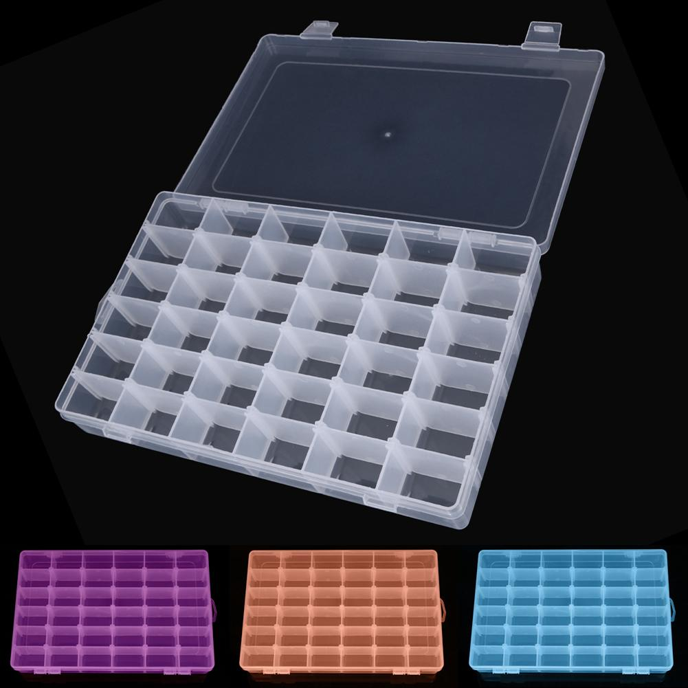 2019 Rectangle Plastic Organizer 36 Compartment Storage Box Adjustable Bead  Container Rings Jewelry Case Home Organizer From Starch, $25.69 | DHgate.Com