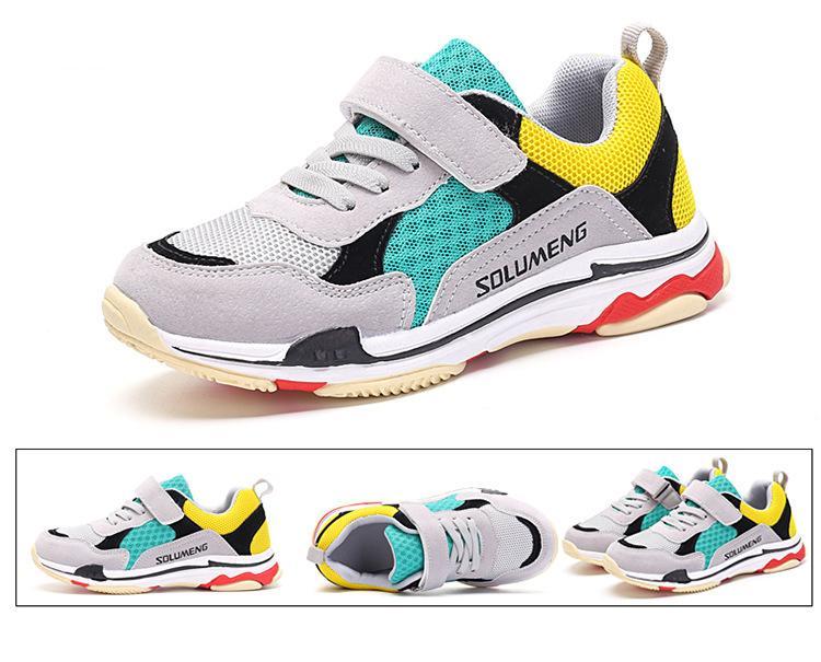 ... Scarpe Ragazze Ragazzi Moda Sneakers Comode Bambini Scarpe Sportive  Traspiranti Scarpe Casual Taglia EU 30 39 A  20.16 Dal Wang888708  63952e8a3d0