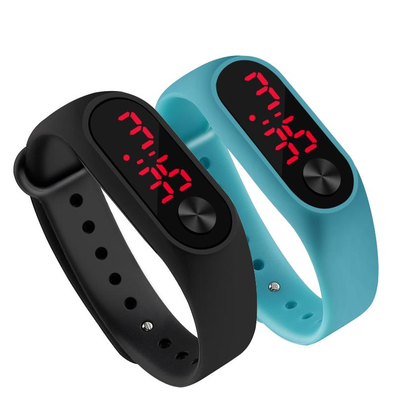 15aa94422 Fashion Men Led Digital Watch Women Casual Yoga Silicone Sports Wristwatch  Children Kids Watches Outdoor Bracelet Watches Clock Watches Wholesale  Great ...