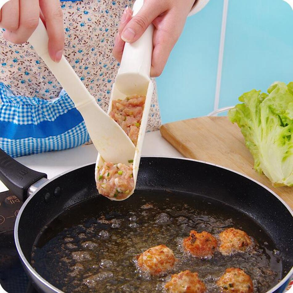 Meatball Maker Pattie Burger Gadgets DIY Convenient Easy To Use Essential Home Kitchen Cooking Tools OOA4263