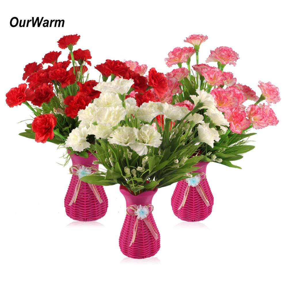 2018 wholesale 3 bouquet artificial flowers 10 heads cheap 2018 wholesale 3 bouquet artificial flowers 10 heads cheap carnations silk decorative fake flowers for home decoration mothers day from sunyunqinglina izmirmasajfo