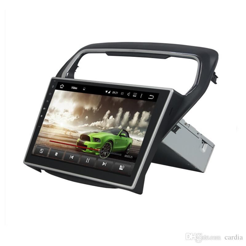 Car DVD player for Ford Escort 2014-2015 10.1inch Andriod 6.0 2GB RAM with GPS,Steering Wheel Control,Bluetooth