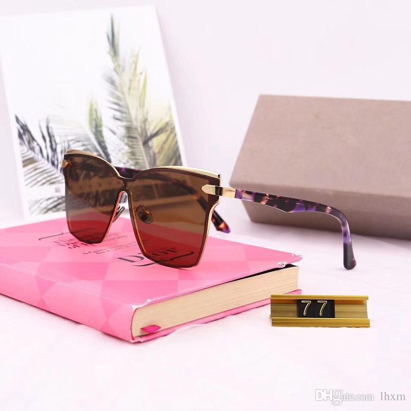 Atacado-d77 óculos de sol quentes mulheres marca designer homens óculos de sol de revestimento oculos retro moda gafas de sol marca óculos de sol