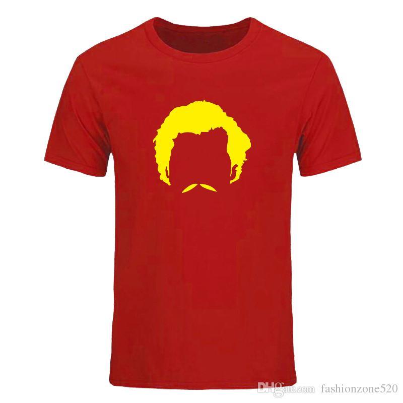 Série télévisée Pablo Escobar Narcos T Shirts Hommes Nouveau Imprimé T-shirt Décontracté D'été À Manches Courtes Coton Tops Tees DIY-0560D