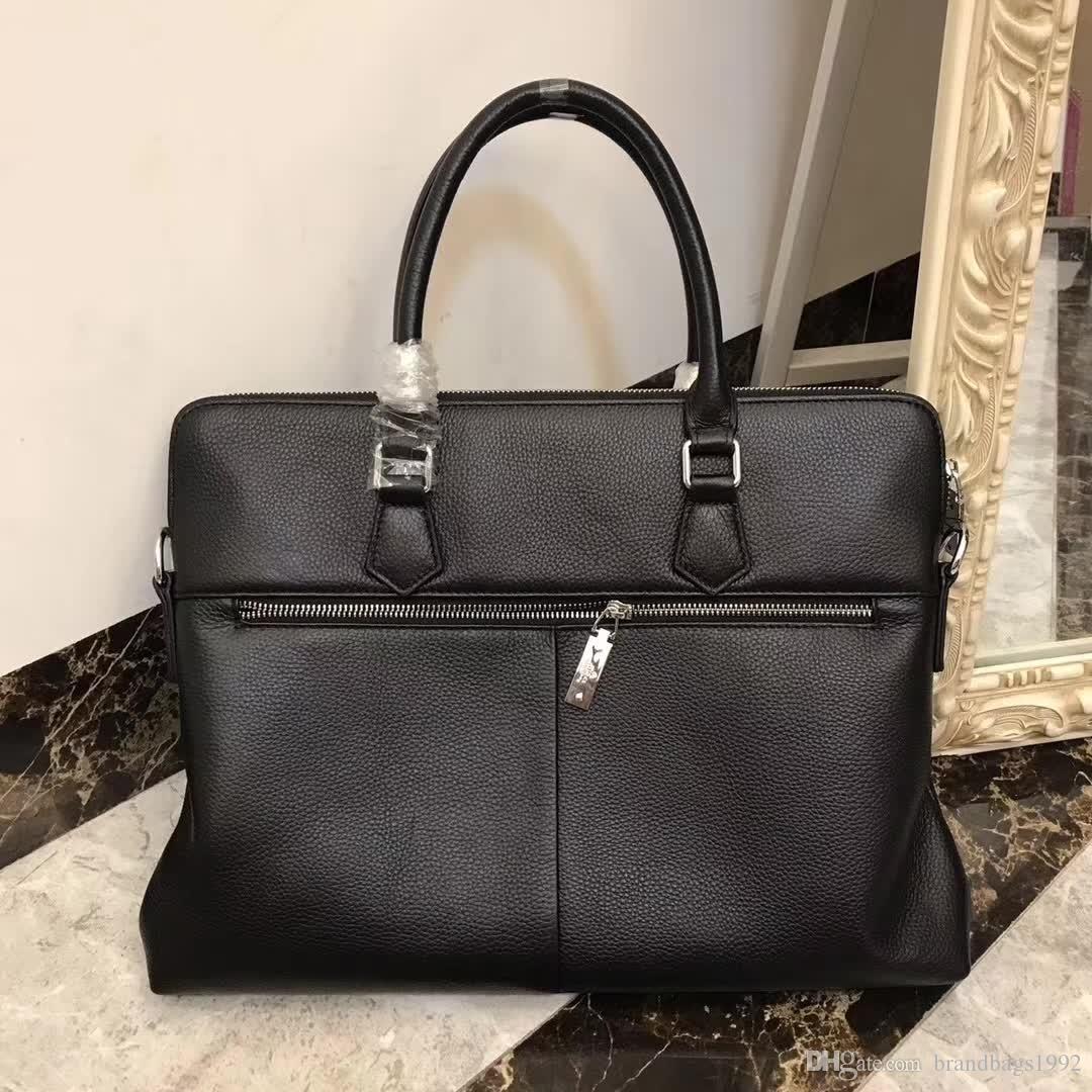81a7140f7837 new arrival fashion designer laptop bag cross body shoulder notebook  business briefcase computer bag with men Messenger bag 696-1