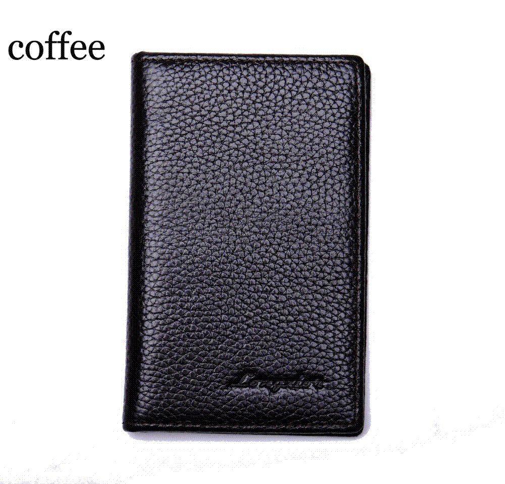 2b4e863470500d MRF17 Slim Leather ID/Credit Card Holder Bifold Front Pocket Wallet With RFID  Blocking Business Card Holder 100% Genuine Leather Luxury Wallets Front  Pocket ...