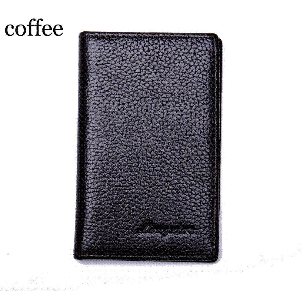 a82111606b Acquista MRF17 Slim Leather ID / Porta Carte Di Credito Bifold Front Pocket  Wallet Con RFID Blocking Porta Biglietti Da Visita 100% Vera Pelle A $13.08  Dal ...
