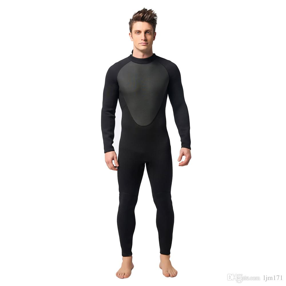 c703c8eb6a Men's 3mm Neoprene Full Body Diving Swimming Surfing Spearfishing Wet Suit  Snorkeling Suit