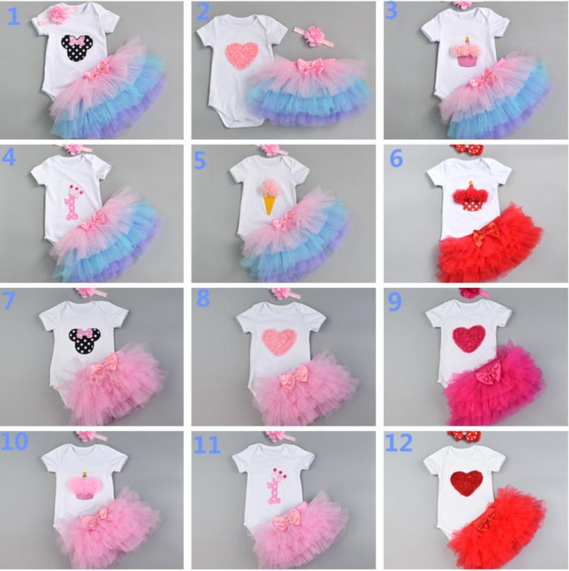 847ef4fe3d09d 2019 3D Ice Cream Newborn Baby Girl First Birthday Party Princess Tutu Dress  Kids Girl Lace Summer Vestidos Dress Clothing From Lovebabby, $11.04 |  DHgate.