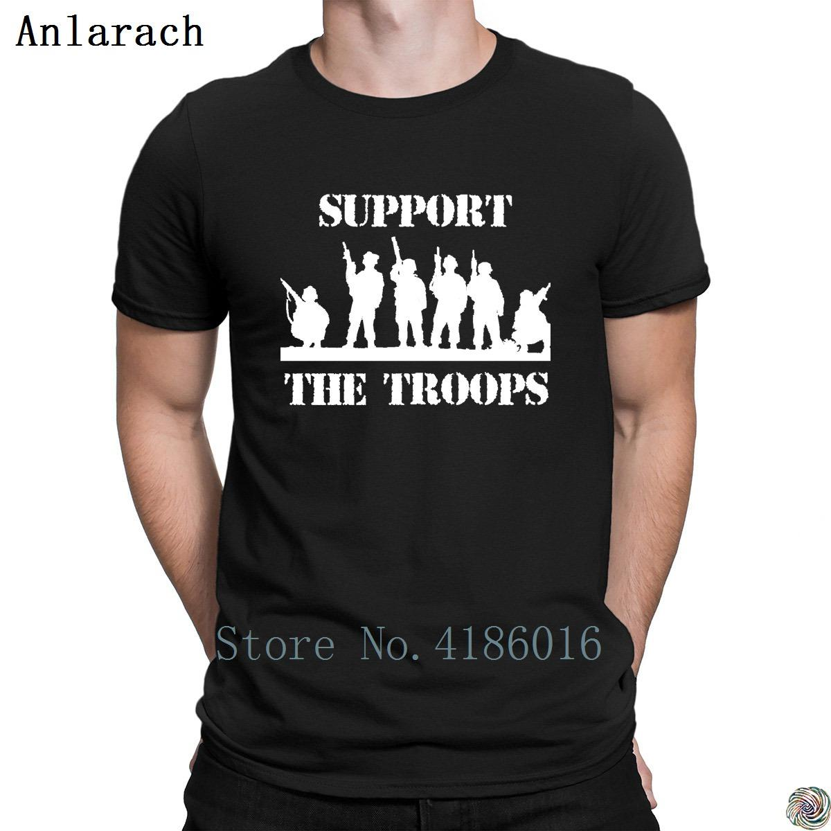 Support The Troops Veterans Day Tshirts Humor Solid Color Natural Size S  3xl T Shirt For Men Fun Sunlight Designing Tee Tops Cotton Shirts White T  Shirts ... 6b2d87668
