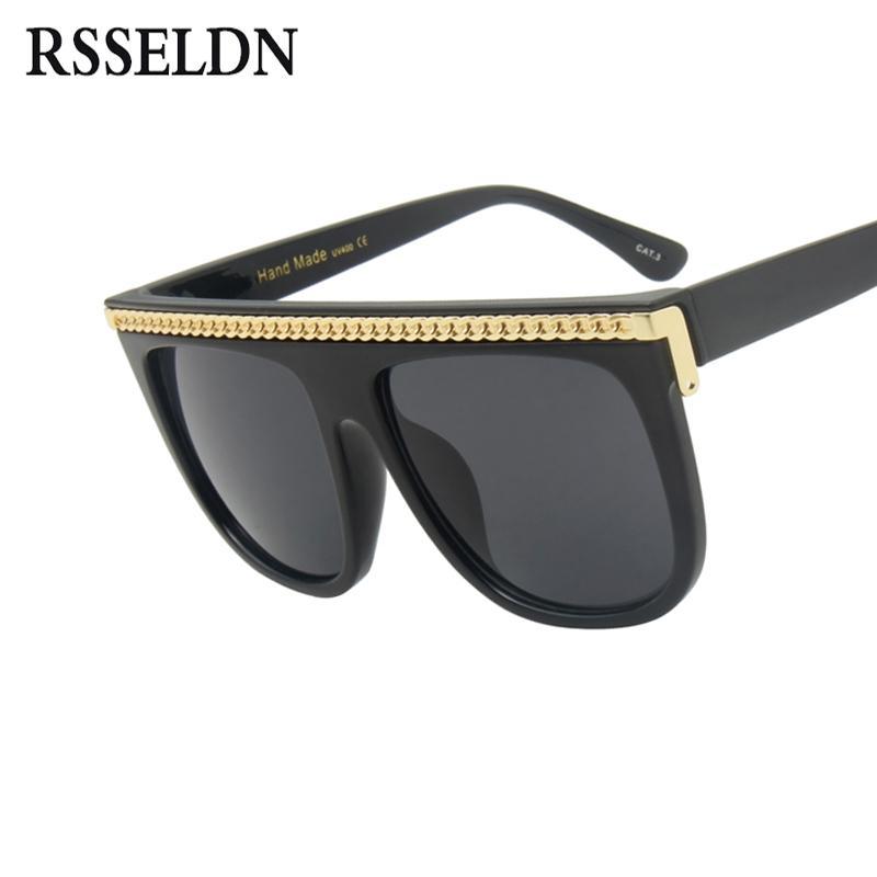 3e13e2d423226 Wholesale Oversized Square Sunglasses Women Gradient Lens 2018 New Fashion  Big Frame Sun Glasses For Men Retro Black Eyewear UV400 Sunglasses Hut  Reading ...