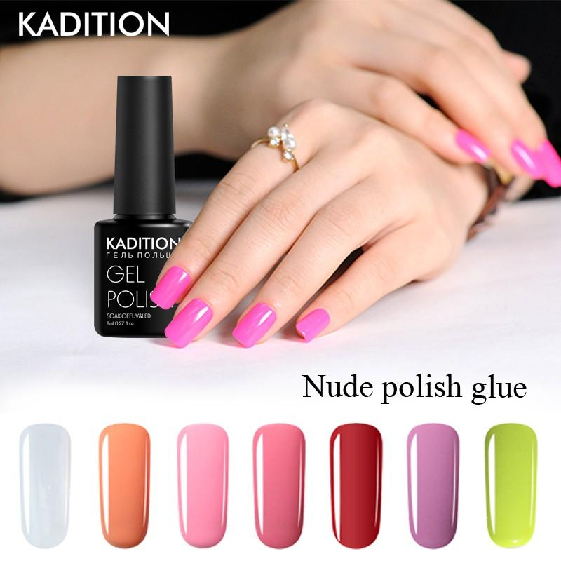 Kaditon No Need Top Coat Base Coat Nail Polish 8ml One Step 3 In 1