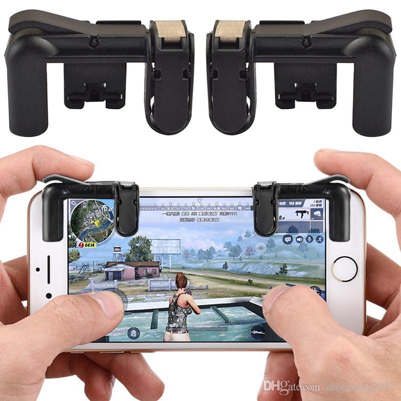 Gamepads Intelligent 2 Stücke Handy-spiel Controller L1r1 Trigger Feuer Shooter Und Ziel Taste Gaming Gamepad Joystick Für Pubg Videospiele
