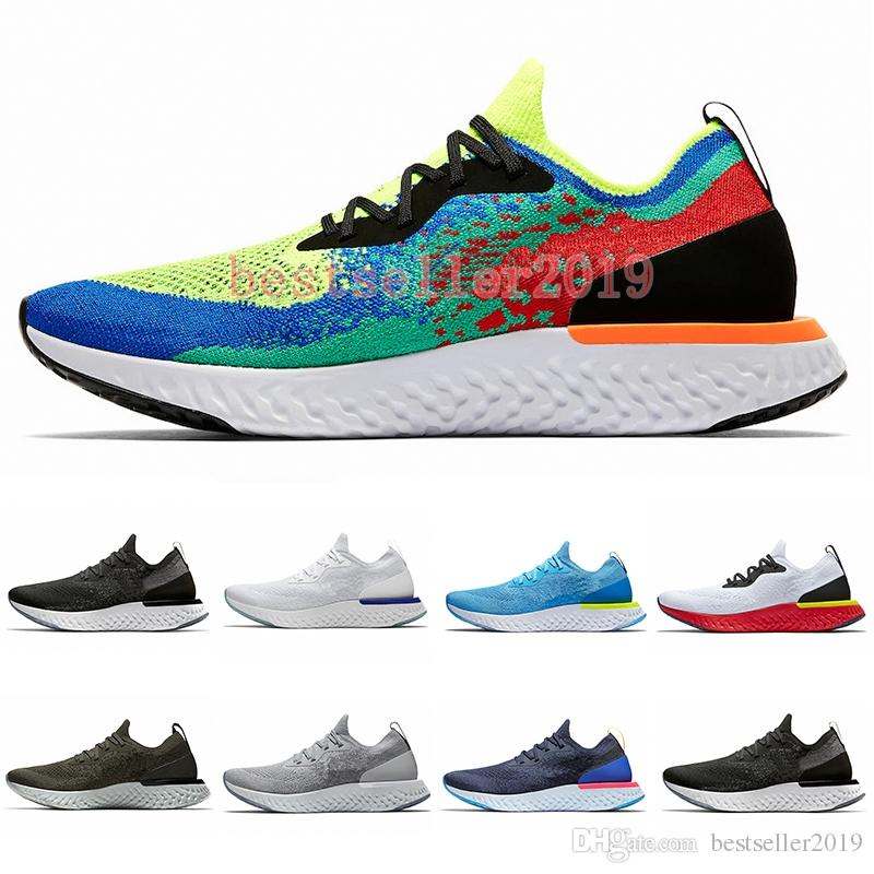 89594082fc5e 2018 Belgium Epic React Instant Go Fly Men Women Running Shoes Blue Glow  Black White Causal Mesh Breathable Sport Athletic Trainer Sneakers Mens  Trail ...