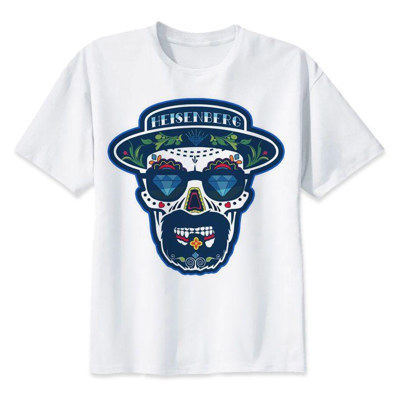 e330ea6f9dfc Breaking Bad T Shirt Cool Men Clothes Funny Heisenberg Print T Shirt  Fashion Man O Neck Tshirt Male Casual Tops Tee 1 T Shirt T Shirt And Shirt  From ...