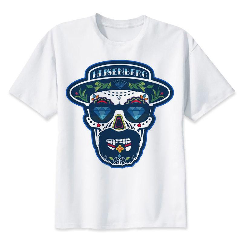 038864e273c33 ... La Camiseta Mala Ropa De Los Hombres Frescos Camiseta De Impresión  Heisenberg Divertido Camiseta De Hombre De Moda O Cuello Camiseta De Tapas  Casuales ...