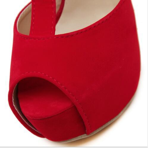 Markendesigner-neues Rom hoch mit Metalldekoration imprägniern Taiwan-Stöckelschuh-Frauen-Art- und Weisesandelholze reizvolle Schuhe Freies Verschiffen