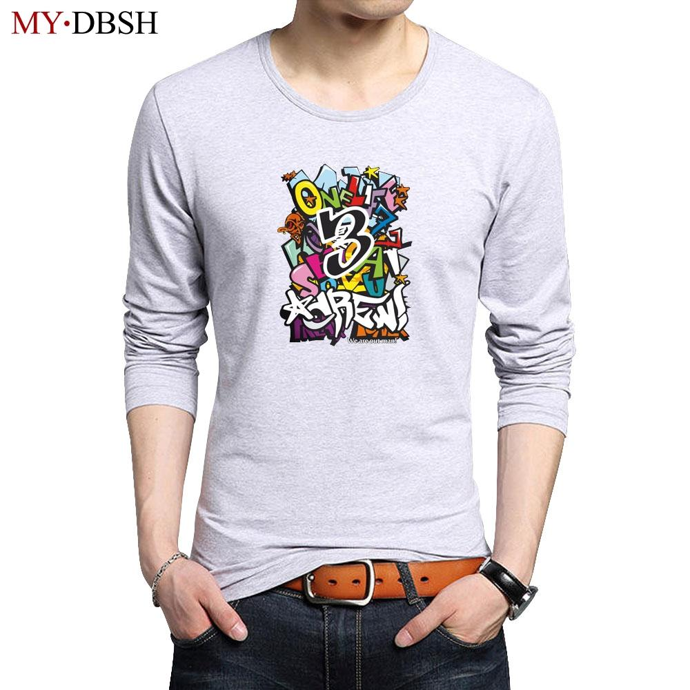 Summer Street Wear Men Graffiti T Shirt 2018 Trends New Fashion Cotton Brand Clothes For Men Funny Printed Tops Tees Size S5Xl T Shirt T Shirts From