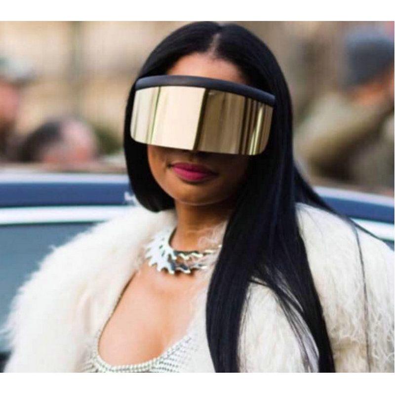 f6d59e298f New Sunglasses Oversize Women Sunglasses Large Frame Reflective Wind Men  Sun Glasses Retro Square Rimless Glasses FML Mens Sunglasses Police  Sunglasses From ...