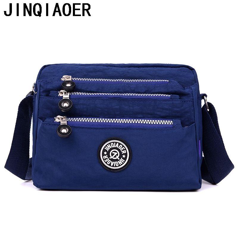 9a5ada83ed6f Fashion Womens Messenger Bags Waterproof Nylon Purses And Handbags Female  Crossbody Bags Style Shoulder Hand Bags Ladies Bags Backpack Purse From  Naforan