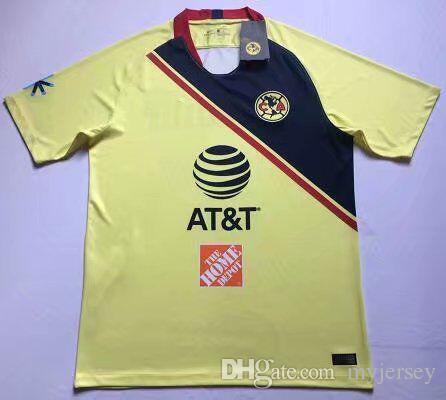 7ac8116bd 2019 2019 LIGA MX Club America Soccer Jerseys Home Away 18 19 20 ...