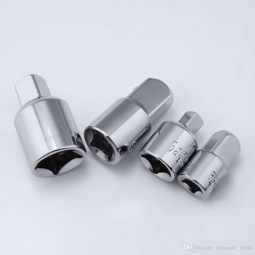 1/4 3/8 1/2 Drive Socket Adapter Converter Reducer Air Impact Craftsman Ratchet Socket Wrench Adapter Hand Tools Set Kit