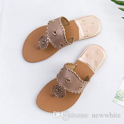 Novo 2018 Estilo Verão Sapatos Sandálias Das Mulheres Marca de Moda Chinelos Flats Flip Flops Boa Qualidade Sexy Sandália Plana