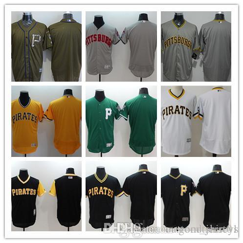 20acefc94 Custom Men Women Youth Majestic Pirates Jersey  00 Any Your Name And ...