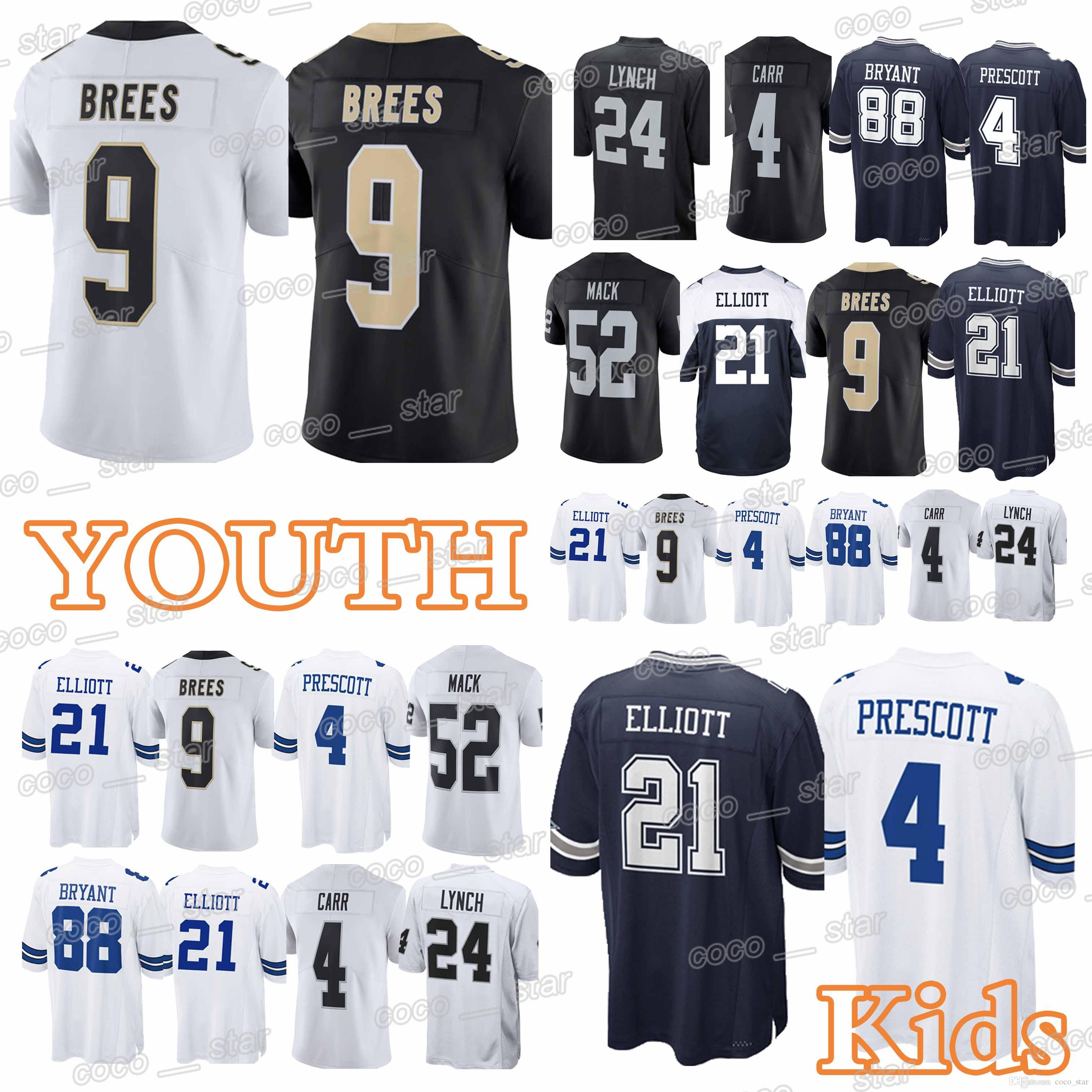 2cffdee25 ... australia 2019 youth new orleans 66 saints dallas 66 cowboys 9 drew  brees jerseys 88 dez