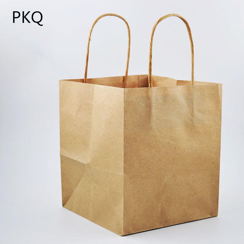 88bd9b5fbe88c Kraft Paper Bag Square Flower Bags With Handle Decoration White Paper Gift  Bag Packaging Large Size Bags 5.28 Holiday Gift Wrapping Paper Holiday  Paper Gift ...