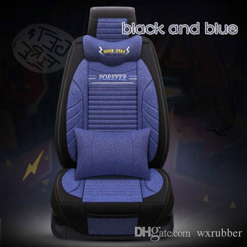 Summer Car Mat Four Season General All Clusive Flax Breathable Interior Accessories Full Set Seat Cover Infant Carseat Covers Girl