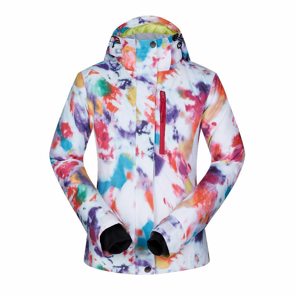 054877743af Women Ski Jacket Underwear Skiing Windproof Waterproof Breathable ...