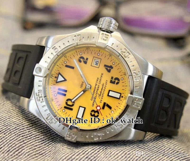 396ba209e38 Luxury High Quality Watch 45mm Avenger II Seawolf  A1733110 I519 152S A20SS.1 Men S Automatic Watch Rubber Strap Gents New  Best Watches Vintage Watches ...