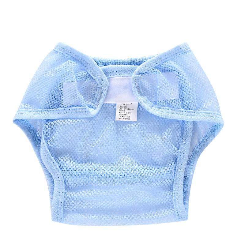 Summer Washable Cloth Nappy Baby Diaper Reusable Baby Nappy Pocket Mesh Cloth Reusable Diapers Not Waterproof Baby Shoes