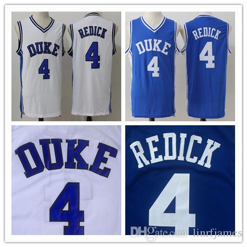 9f5d748dafeb Großhandel Herren Ncaa College Duke Blue Devils   4 Jj Redick Basketball  Jersey Shirt Alle Genähten Basketball Hemden S Xxl Von Linrfjames