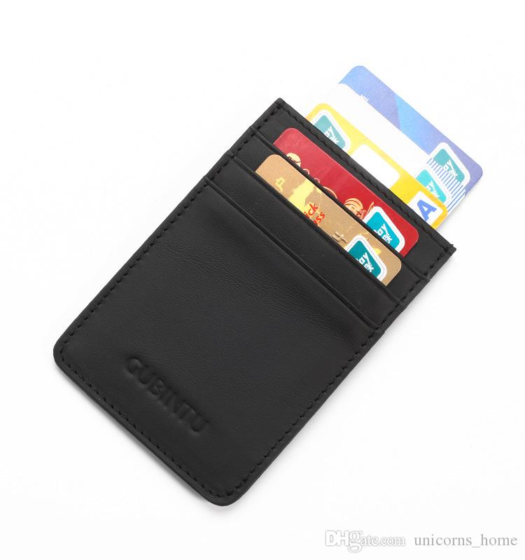 5208d6979a93 Slim Wallet RFID Front Pocket Wallet Minimalist Secure Thin Credit Card  Holder Organization 20 pcs UNY127