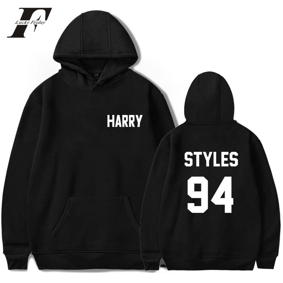550f2549fba2 Acquista One Direction Harry Styles Harajuku Felpe Donna Felpa Autunno  Streetwear Cappellino Felpe Kpop Fans Cloth A  24.1 Dal Pattern68