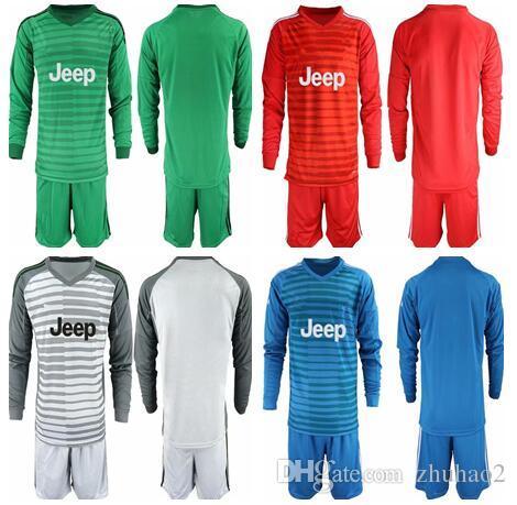 651f19b06 2019 2018 19 Soccer Juventus Goalkeeper Kit SZCZESNY BUFFON Ronaldo DYBALA  HIGUAIN Football Shirt Kit Long Sleeve Goalie Uniforms Kit From Zhuhao2