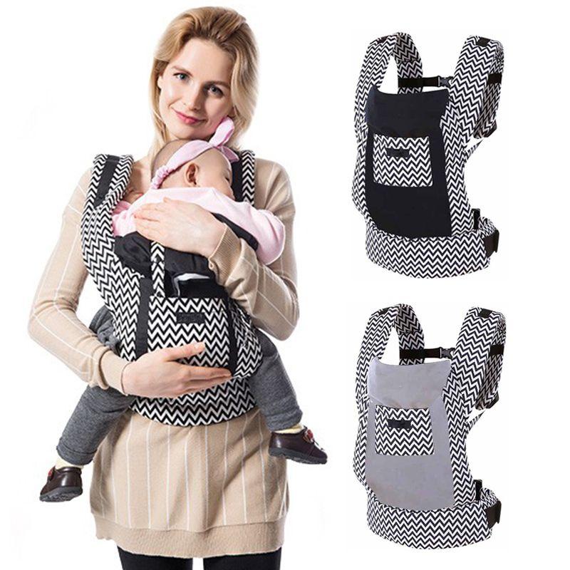 d4781d575c6 2019 Organic Cotton Ergonomic Baby Carrier Backpacks Canguru Baby Kangaroo Newborn  Sling Wrap Multifunction Infant Sling Carrier From Cover3085