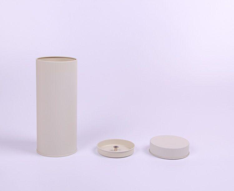 7.4*17.5cm Round tea pot/jewelry storage box/food box/metal tin box