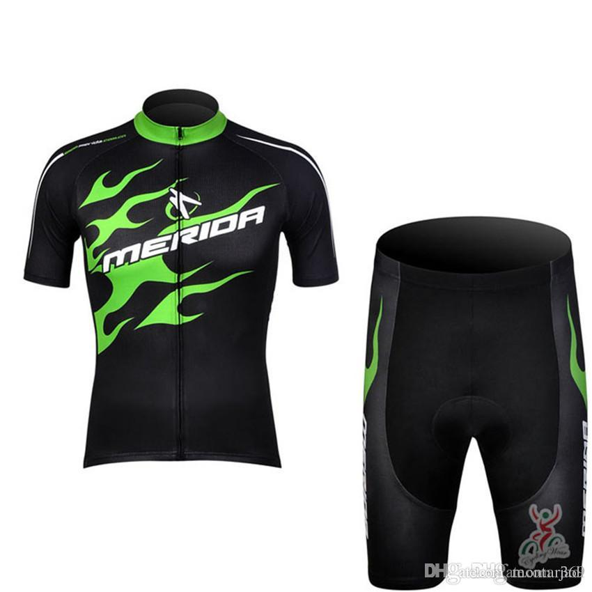 e37d59a22 2017 Merida Cycling Jerseys Clothing New Cycling Shorts Set Ropa ...