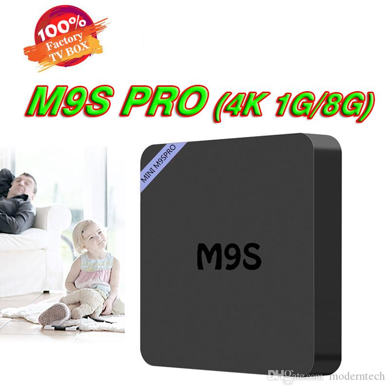 M9S PRO M9SPRO RK3229 Quad Core Android 7.1 TV Box Wifi 1G/8G 10Bit 60ftps Vedio Decoder 1080P HD Streaming Media Player TV Boxes