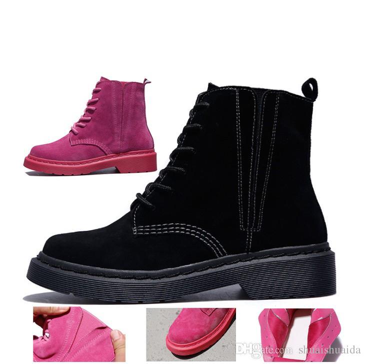 Acheter 2018 Bottes De Moto Pour Femmes Bottes À La Cheville Ventilation  Chaussures De Mode Décontractées Pour Femmes Printemps Et Hiver Bottes De  Neige En